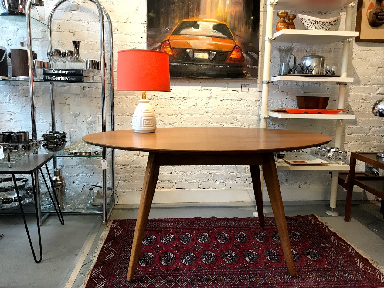 Mid Century Modern Jens Risom For Knoll Dining Table